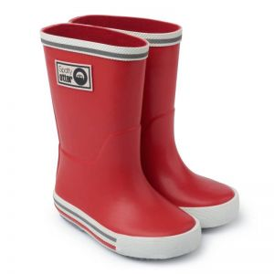 Spotty Otter Forest Ranger Wellies - Red