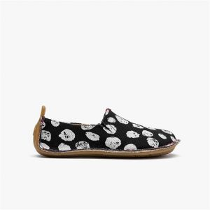 Vivobarefoot Kids Ababa Black Dot