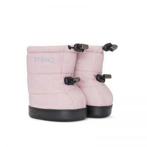 Stonz Haze Pink Puffer Booties