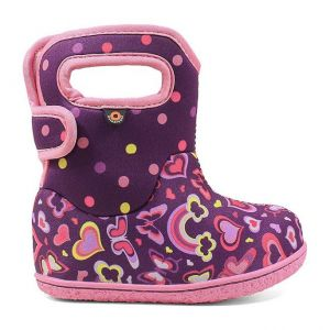 Baby Bogs Rainbow Purple Multi