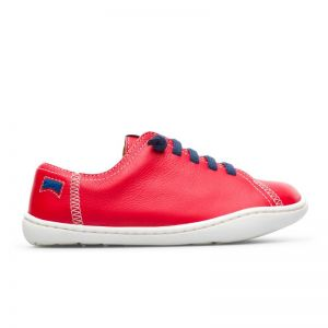 Camper Kids Peu Shoe Red Blue