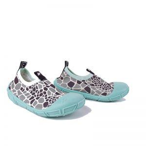 Turtl Aqua Shoes Turtle Print Aqua