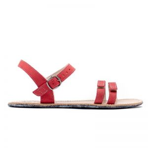 Be Lenka Ladies Sandals Red