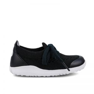 Bobux Knit Black Charcoal