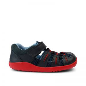 Bobux Summit Sandal Navy Red