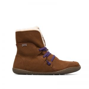 Camper Ladies Peu Ankle Boot Brown