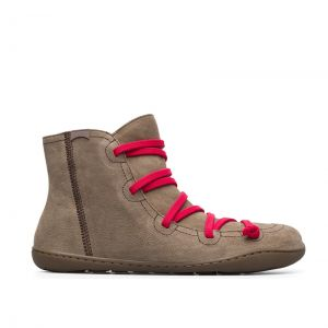 Camper Ladies Peu Ankle Boot Taupe