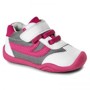Pediped Grip n Go Cliff White Fuchsia
