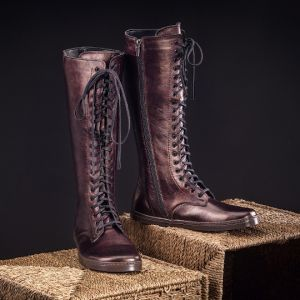 Peerko Adults Empire Boots Chestnut