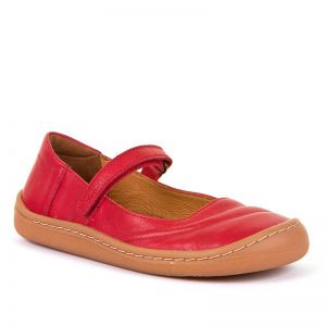 Froddo Kids Barefoot Mary Jane Red