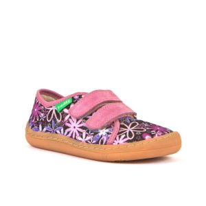 Froddo Barefoot Canvas Shoes / Slippers Flowers