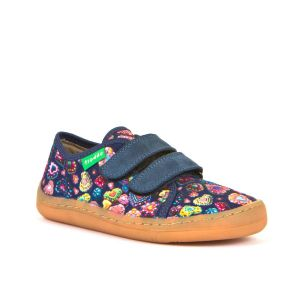 Froddo Barefoot Canvas Shoes / Slippers Denim Hearts