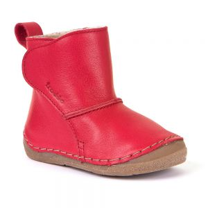 Froddo Kids Warm Lined Boot Red