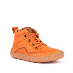 Froddo Barefoot Lace Up Boot Orange