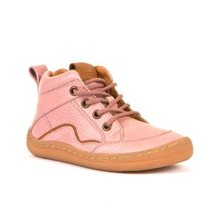 Froddo Barefoot Lace Up Boot Pink