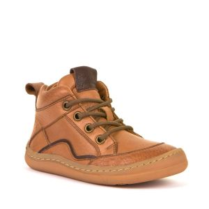 Froddo Barefoot Lace Up Boot Cognac