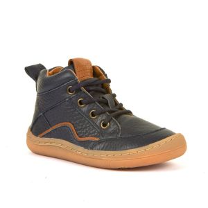 Froddo Barefoot Lace Up Boot Navy