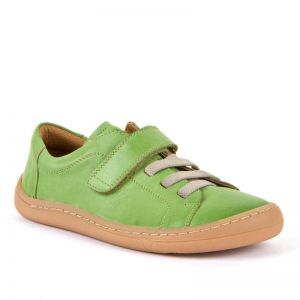 Froddo Barefoot Olive Faux Lace Up Shoe
