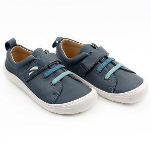 Tikki Kids Harlequin Leather Shoes Aegean