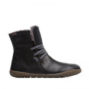 Camper Ladies Peu Mid Height Boots Black
