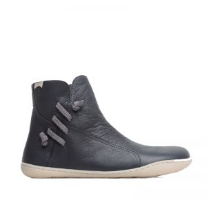 Camper Ladies Peu Ankle Boots Grey