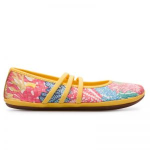 Camper Kids Right Coral Yellow