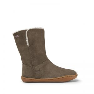 Camper Kids Tall Boot Taupe
