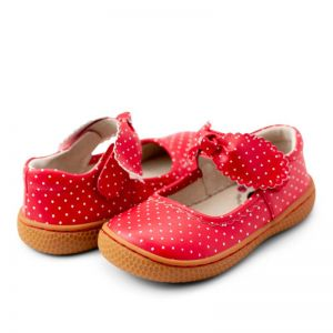 Livie and Luca Knotty Red Polka Dot