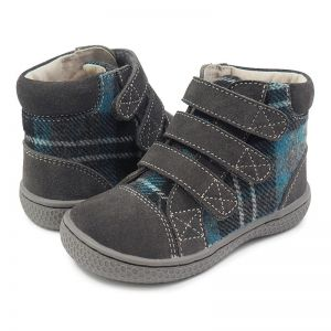 Livie and Luca Jamie Grey Plaid