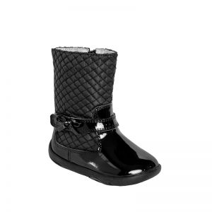 Pediped Grip n Go Naomi Boot Black Patent