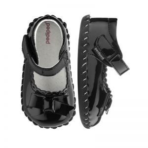 Pediped Originals Betty Black Patent