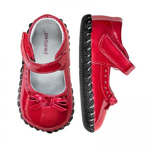 Pediped Originals Isabella Red Patent