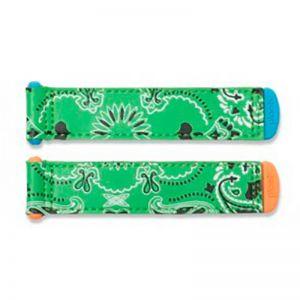 Plae Velcro Tabs Paisley Green