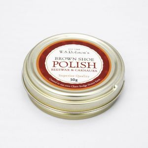 Chain Bridge Honey Farm Brown Beeswax Shoe Polish