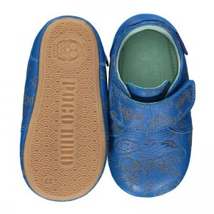Poco Nido Velcro Mighty Shoes Hero Blue