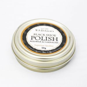 Chain Bridge Honey Farm Beeswax Black Shoe Polish