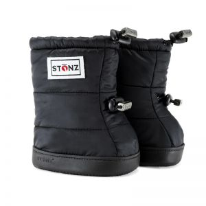 Stonz Black Puffer Booties