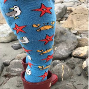 Slugs & Snails Seaside Tights