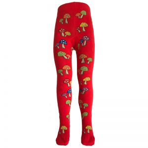 Slugs & Snails Red Fun Guy Tights
