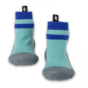 Turtl Socks in a Shell Aqua
