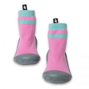 Turtl Socks in a Shell Pink