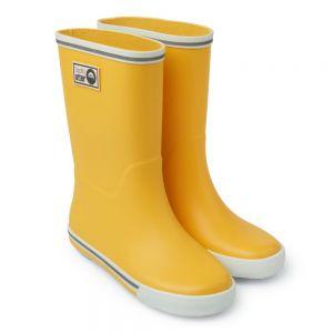 Spotty Otter Forest Ranger Wellies - Yellow