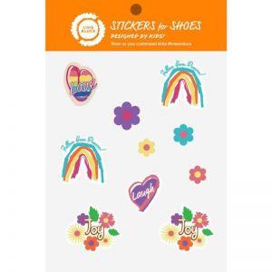 Livie and Luca Shoe Stickers - Rainbow