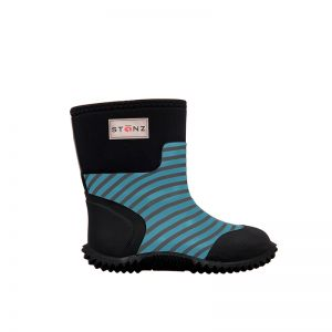 Stonz West Boots Blue Stripe