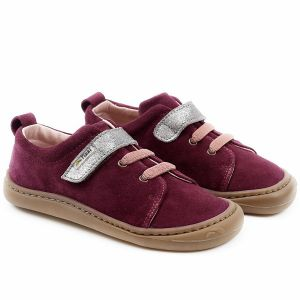 Tikki Kids Harlequin Leather Shoes Amarant