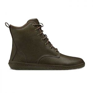 Vivobarefoot Men's Scott Boots in Chestnut Leather
