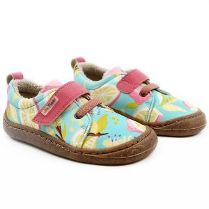 Tikki Kids Harlequin Textile Shoes Cocktail