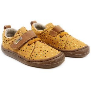 Tikki Kids Harlequin Textile Shoes Triangle