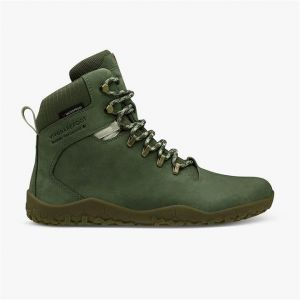 Vivobarefoot Ladies Tracker Walking Boot Green