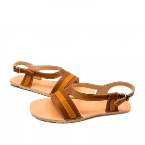 Zeazoo Ladies Anemone Sandal Brown